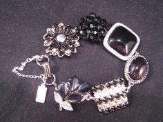 Reclaimed Vintage Bracelet Vintage Earring by JenniferJonesJewelry, $37.50