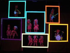 black light puppet show ideas - Google Search