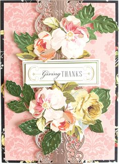 Anna Griffin Cards, September 11, Die Cutting, Cool Things To Make, Handmade Cards, Projects To Try, Paper Crafts, Style, Craft Cards