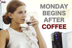 Przed rozpoczęciem pracy warto pamiętać, by pobudzić się aromatycznym i orzeźwiającym zmysły espresso. 25 ml kawy potrafi zdziałać cuda! #KawaSegafredo #CoffeeNeeded #mondayCoffee