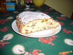 Výborná vánoční tvarohová štola   Mimibazar.cz Bread, Food, Brot, Essen, Baking, Meals, Breads, Buns, Yemek