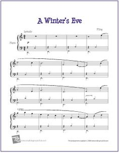 Minuet in G (Major) Bach   Sheet Music for Piano - http ...