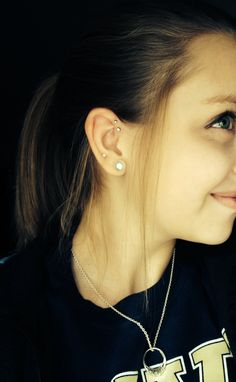 Double helix piercing This is definitely what I want now