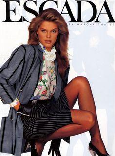 Renée Simonsen, for Escada  (1988)