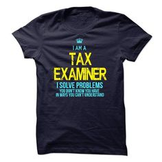 I am a Tax Examiner - #man gift #house warming gift. BUY TODAY AND SAVE => https://www.sunfrog.com/LifeStyle/I-am-a-Tax-Examiner-15656090-Guys.html?68278