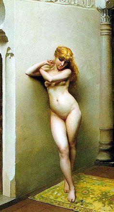 The Favourite by Luis Ricardo Falero :: artmagick.com