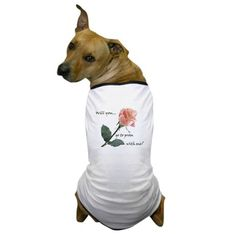 Will you go to prom with me? Dog T-Shirt on CafePress.com