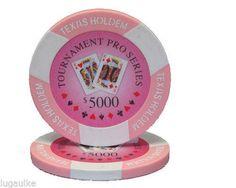 SALE 150 x $5000 Tournament Pro 11.5 gram #Poker /Casino Chips New FREE SHIPPING