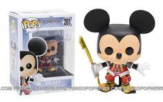 Disney Kingdom Hearts Funko POPs Mickey 261