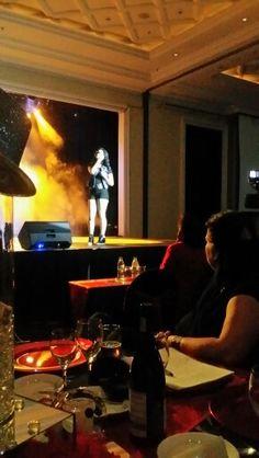 Taye brink on stage IATS