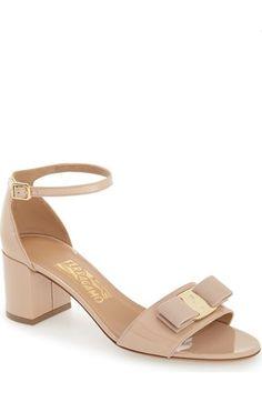 Salvatore Ferragamo 'Gavina' Ankle Strap Sandal (Women) available at #Nordstrom
