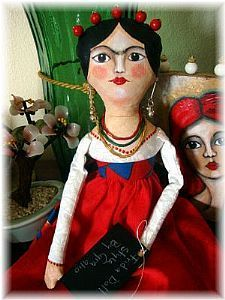 Frida doll- beautiful hair!