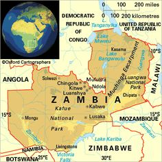 Zambia- Luanshya, finally made a map! Home for 7 years, Zamefa copper
