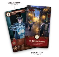 A two-player head-to-head card game of deep strategy, unique abilities and powerful combos, set in vibrant, steampunk setting.