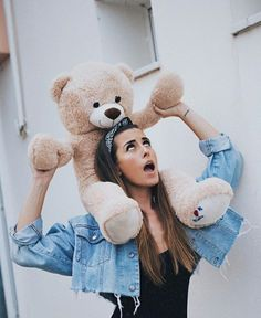 Healthy living at home devero login account access account Girl Photo Poses, Girl Photography Poses, Cute Girl Pic, Cute Girls, Giant Teddy Bear, Teddy Girl, Teddy Bear Pictures, Artsy Photos, Cute Poses