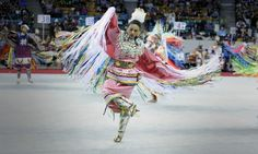 Denver fancy shawl dancer Tanksi Clairmont will be the Head Lady Dancer for the 2015 Gathering of Nations pow-wow in Albuquerque this weekend. Native American Clothing, Native American Indians, Native Americans, Powwow Regalia, Powerful Images, Native Style, Pow Wow, First Nations, The Gathering