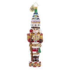Christopher Radko Candy Cracker Nutcracker Christmas ornament 2016 for sale