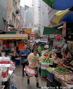 Marché de Graham Street - Hong Kong