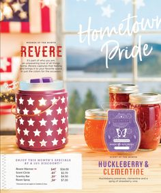 ☆June 2017 ~Warmer & Scent of the Month!☆ Independent Consultant LuckyGirl2014.Scentsy.us