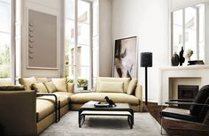 Oversized art - how to do elegance with an edge!