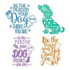 Be The Person SVG Cuttable Designs