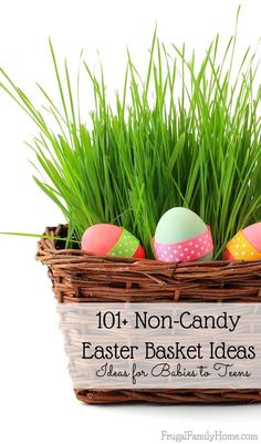Happymoneysaver check out 87 thrifty and fun easter basket 101 noncandy easter basket ideas for babies to teen negle Image collections