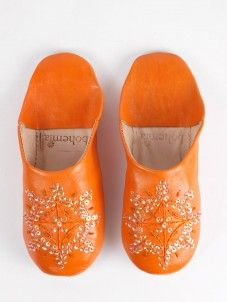 Moroccan slippers £23.50.