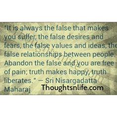 Image result for nisargadatta maharaj quotes