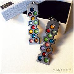 ''Dots of Amatller'' earrings