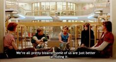 I adore bratpack films and The Breakfast Club is one of my all time favourite movies.  Anyone who hasn't watched it should do so immediately