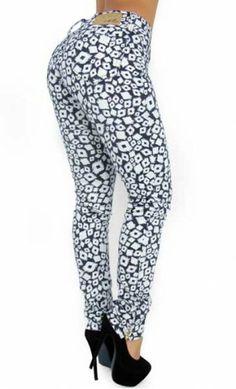 $52.95 Floral Print Skinny Jean