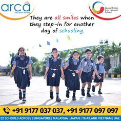 Global Indian International School Holistic Education, Science Week, Leadership Qualities, Global Citizen, Republic Day, School Building, International School, King Jr, Positive Attitude