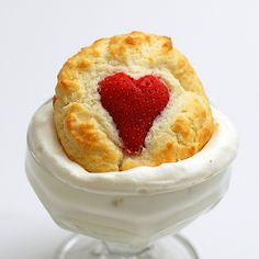 I think these are scones but are described by the blogger as cupcakes. Whichever, they look yummy!