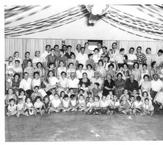 Modugno and Fusano family reunion, 1949 :: San Fernando Valley History
