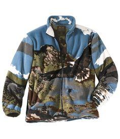 Blouson Polaire Eagle Rock #atlasformen #avis #discount #livraison #commande #printemps #spring #blouson #jacket