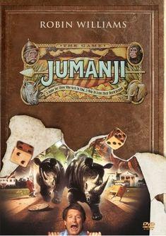 Jumanji [DVD, 1 of 43 high-resolution movie posters in this group. 1995 Movies, Teen Movies, Good Movies, Jumanji 1995, Jumanji Movie, Film 1990, All Robins, Robin Williams, New Poster