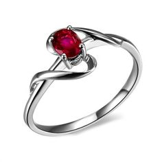 Beautiful Engagement Rings Ruby 7