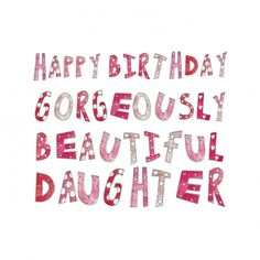 Happy Birthday my gorgeously beautiful daughter! <3 @Samantha Alfaro