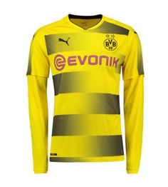 Borussia Dortmund Home Long Sleeve Puma Shirt Sports, Tops, Fashion, Leotards, Borussia Dortmund, Hs Sports, Moda, Fashion Styles, Sport