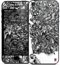 Ink Pond iPhone Cases & Skins by Nanami Cowdroy | Nuvango