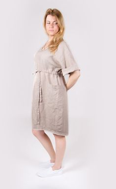 Our Womens Linen Dresses collection offers big variety of linen items for every…