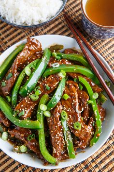 Quick and Easy Beef and Pepper Stir-fry Best Beef Recipes, Pork Recipes For Dinner, Veal Recipes, Healthy Meat Recipes, Stir Fry Recipes, Asian Recipes, Favorite Recipes, Beef Dishes, Food Dishes