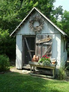 out these backyard shed ideas. Check out these backyard shed ideas.Check out these backyard shed ideas. Check out these backyard shed ideas. Shed Design, Garden Design, Design Design, Interior Design, Garden Cottage, Home And Garden, Diy Garden, Herb Garden, Garden Art