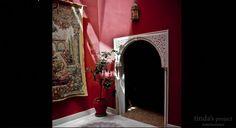 Adosado Córdoba  •  TindasProjectInterioristas #diseñointerior #interiordesign #interiorismo #interior #estilo #estil #andaluz #patio #yard #cordobés #rojo #red