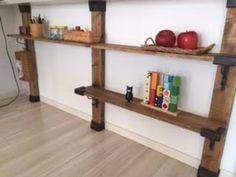 大人気のディアウォールやLABRICOって、結局、何が出来るの?具体的な7通りの実用例をご紹介!! LIMIA (リミア) Floating Shelves, Wood, Home Decor, Ideas, Decoration Home, Woodwind Instrument, Room Decor, Wall Shelves, Timber Wood