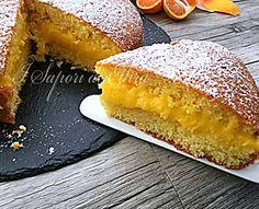 Torta al mandarino ripiena ricetta facile e gustosa