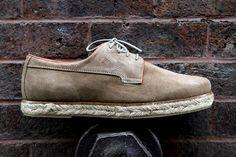 Pointer Willard Shoe. Wavy rope sole.