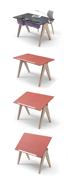 JUMP! Scrivania ideale per i tuoi schizzi e i tuoi disegni... #pensarecasa.it #livinglikeme #studio #arredo #design #furnishings #imab http://www.livinglike.me/it