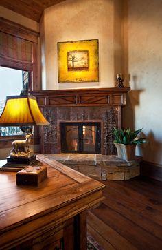 Private Residence Designed Through Paula Berg Design Associates
