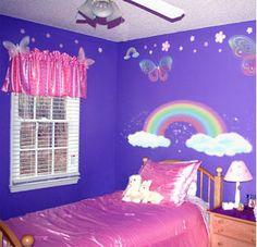 rainbow room decals